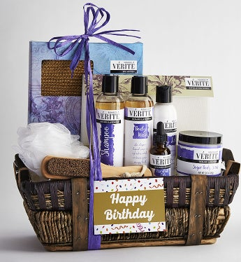 It's Your Birthday! Relax in Luxury Spa Basket