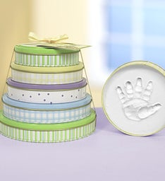 Tower of Time® 5 Year Baby Handprint Kit