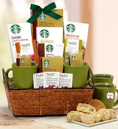 Starbucks® Break Time Basket