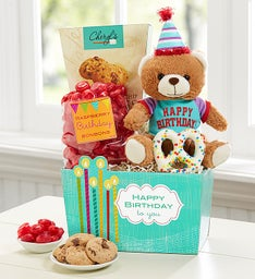 Here's to You Birthday Basket