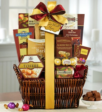 Our #1 Get Well Soon Deluxe Balsam Gift Basket