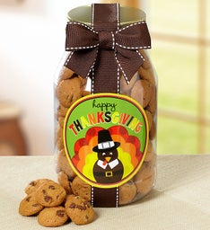 Happy Thanksgiving! Chocolate Chip Cookie Jar