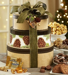 Winter Greetings Chocolate & Sweets Tower