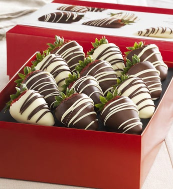 Fannie May® Decadent Chocolate Strawberries 12 ct