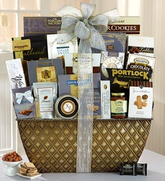 Taste of Distinction Gourmet Gift Basket