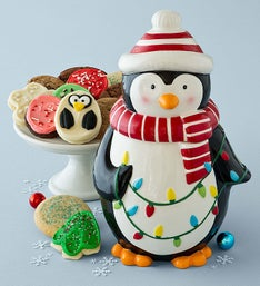 Cheryl's Collectors Edition Penguin Cookie Jar