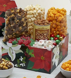 The Popcorn Factory Winter Floral Sampler Box