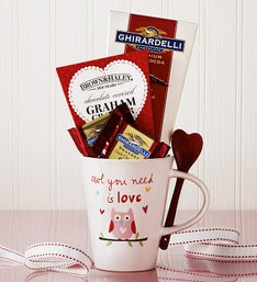 Owl You Need Is Love Mug & Spoon Gift Set