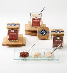 Artisan Salt Co. Exotic Sea Salt Finishing Trio