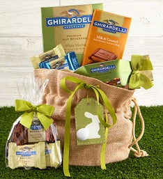 Bunny's Best Sweets Bag featuring Ghirardelli