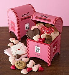 Cheryl's Love Letters Mailbox with Treats