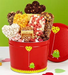 The Popcorn Factory Valentine Monster Snack Tin 2G