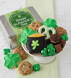 Cheryl's St Patrick's Day Gift Tin with Treats
