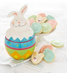 Cheryl's Easter Bunny Cookie Jar