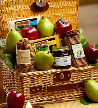 Fruit & Cheese Hamper Large