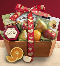 Love is Fresh From The Orchard® Fruit Gift Basket