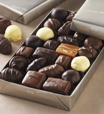 Fannie May® Milk & Dark Chocolate Assortment 1lb.