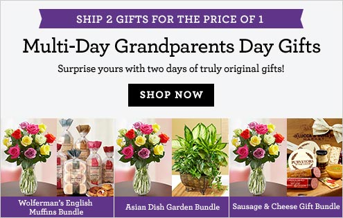 Grandparent's Day Multi-Day Gifting