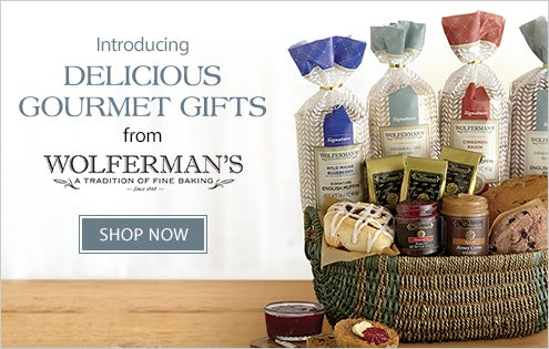 Wolferman's - Delicious Gourmet Gifts
