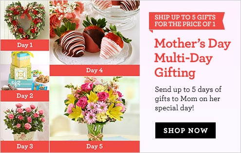Mother's Day Multi-Day Gifting