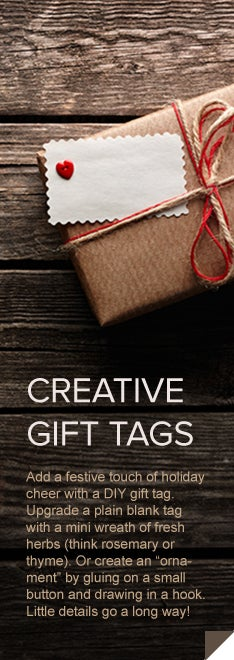Real Simple - Creative Gift Tags