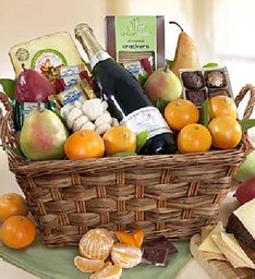 Fruit & Gourmet Gift Basket