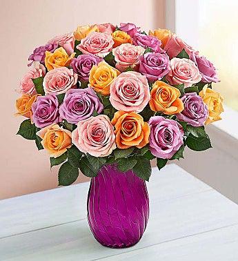Sorbet 36 Stems Roses Bouquet