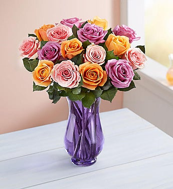 Sorbet Roses + Free Shipping