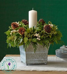 Real Simple® Brilliant Holiday Centerpiece