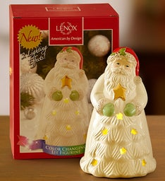 Santa's Sparkle Figurine by Lenox®