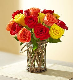 Autumn Rose Bouquet + Free Shipping