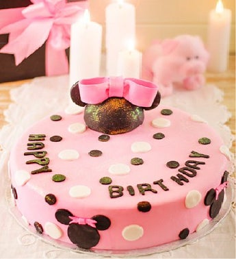 Mini Mouse Birthday Cake