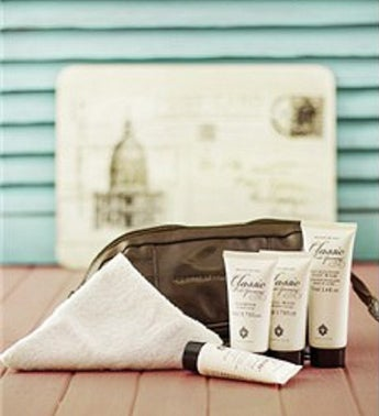 Classic Male Grooming Travel Bag