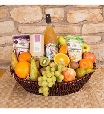 Fresh Juice Fruit Basket