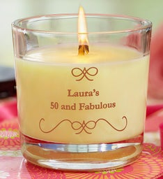 Personalized Woodwick® Candle