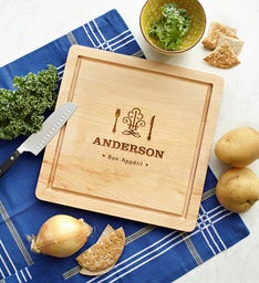 Personalized Bon Appetit Cutting Board