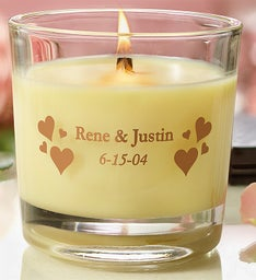 Personalized Woodwick® Candle for Romance