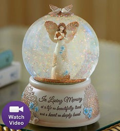 Angel Snow Globe