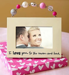 I Love You to the Moon and Back Frame