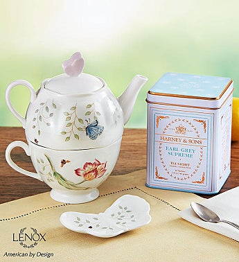 Lenox® Butterfly Meadow Tea For One With Tea