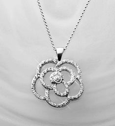 Blooming Rose Pendant