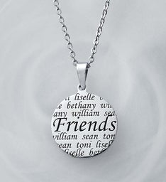 Personalized Friendship Pendant