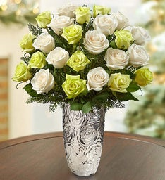 Winter Wonder Bouquet + Free Vase