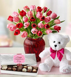 Sweetest Love Bundle with Tulips