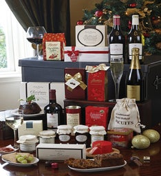Merry Christmas Food Basket