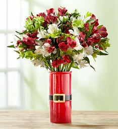Christmas Peruvian Lily Bouquet, 50-100 Blooms