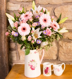 Farmhouse Pinks Bouquet