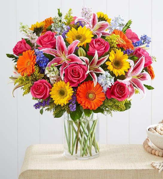 Garden Pathway Flower Bouquet
