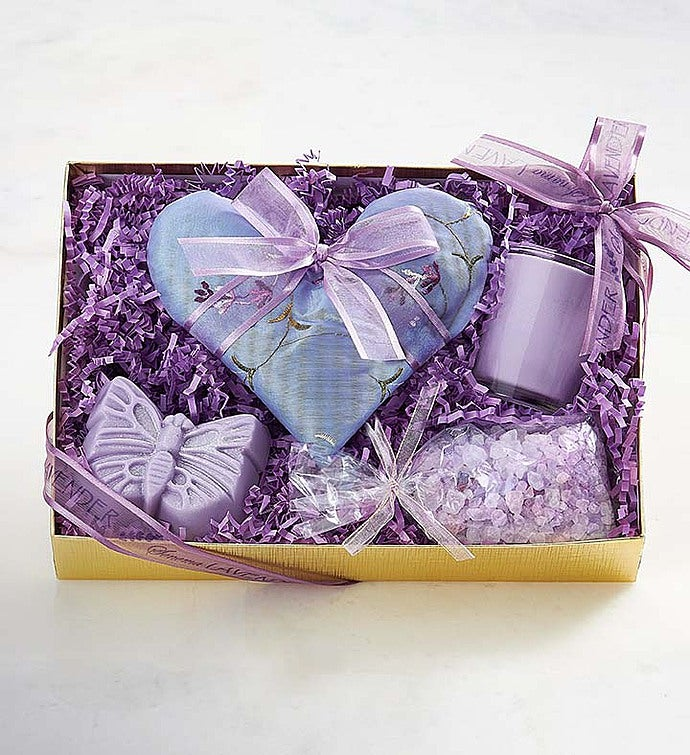 Sonoma Lavender® Robe and Bath Gift Set