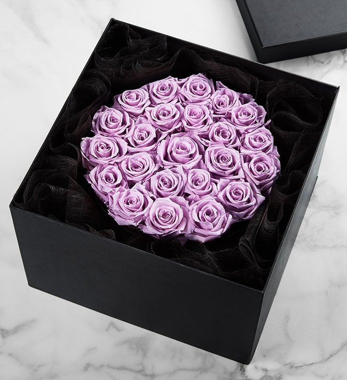 Magnificent Roses® Preserved Lavender Roses